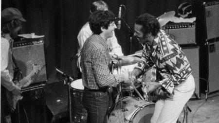 Boogie Bob Baldori and Chuck Barry - Ann Arbor - 1982
