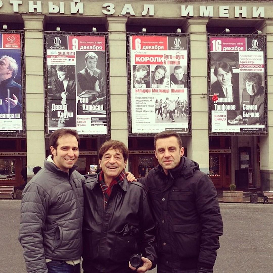 Three amigos Tchaikovsky